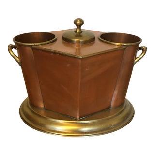 Copper & Brass Dual Wine Chiller