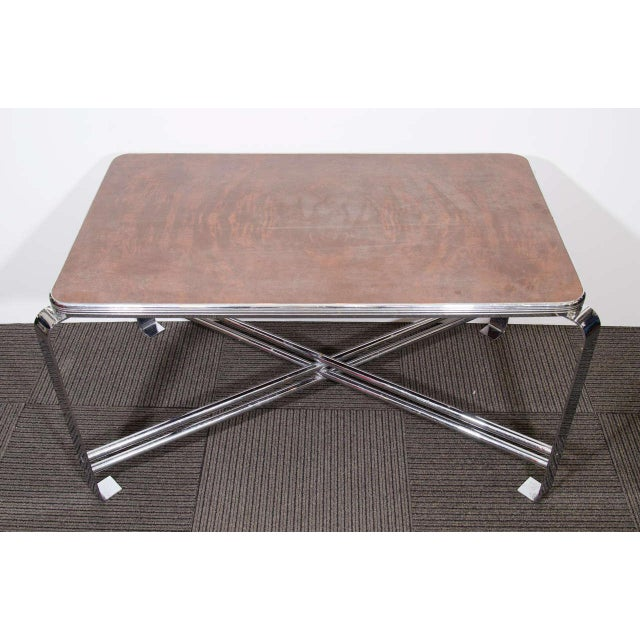 Art Deco ART DECO RARE WOLFGANG HOFFMANN COFFEE TABLE For Sale - Image 3 of 3