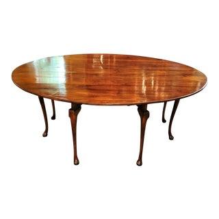 19th Century Irish Elm Wake Table For Sale