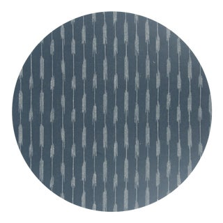 Ikat Placemat in Charcoal For Sale