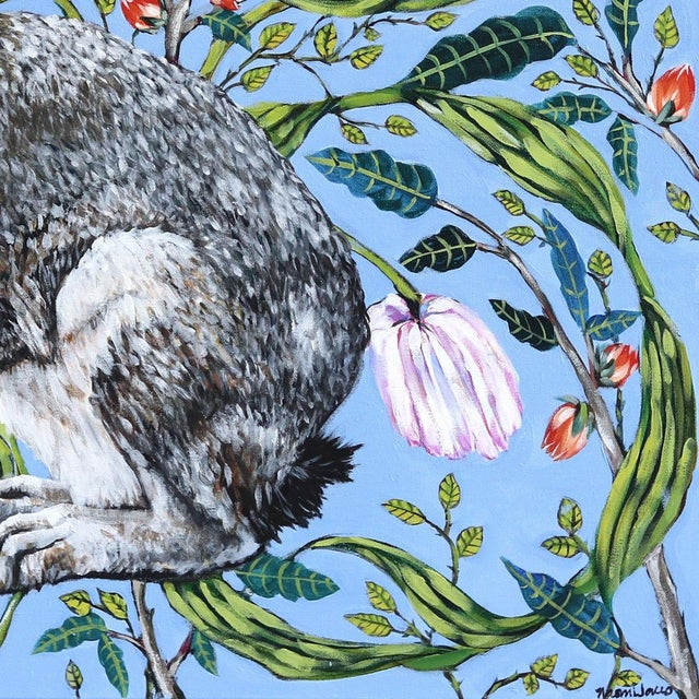 "2010s ""Jack Rabbit"" Original Artwork by Naomi Jones For Sale - Image 5 of 9"