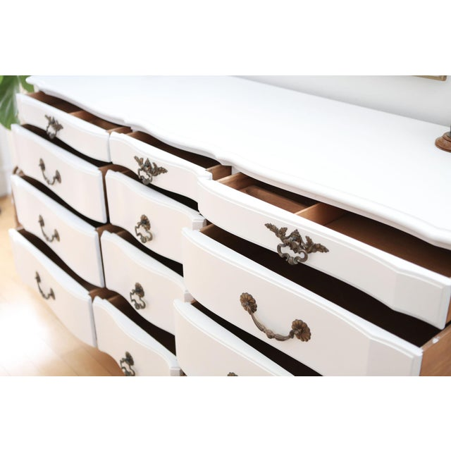 Shabby Chic French Provincial Vintage Dresser - Image 5 of 10