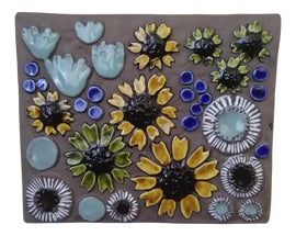 Image of Mint Sculptural Wall Objects