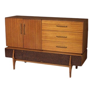 Rare John Keal Buffet or Credenza for Brown Saltman For Sale
