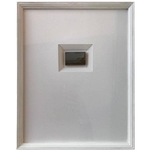 21st Century Custom Framed Paesan For Sale In Boston - Image 6 of 6