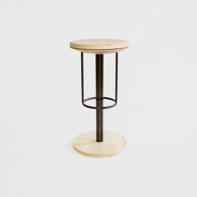Inez Bar and Counter Stool For Sale - Image 4 of 10