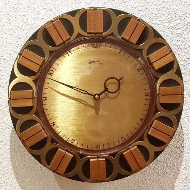 Atlanta Electric Wall Clock For Sale In Austin - Image 6 of 6