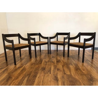 Vico Magistretti for Cassina Carimate Dining Chairs - Set of 4 Preview