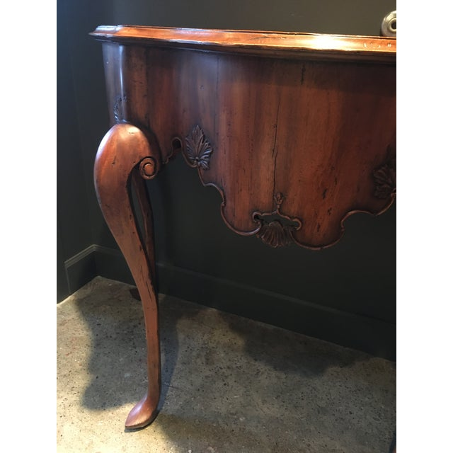Calda Mexican Chippendale Console - Image 3 of 9