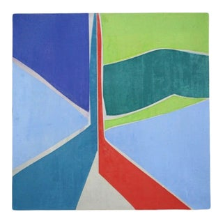 """Joanne Freeman """"Untitled #1"""" Abstract Oil Painting on Canvas, 2019 For Sale"""