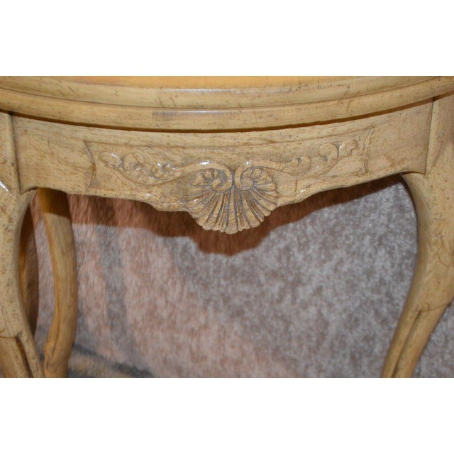 Ash Baker Country French Style Flip Top Card Table For Sale - Image 7 of 13