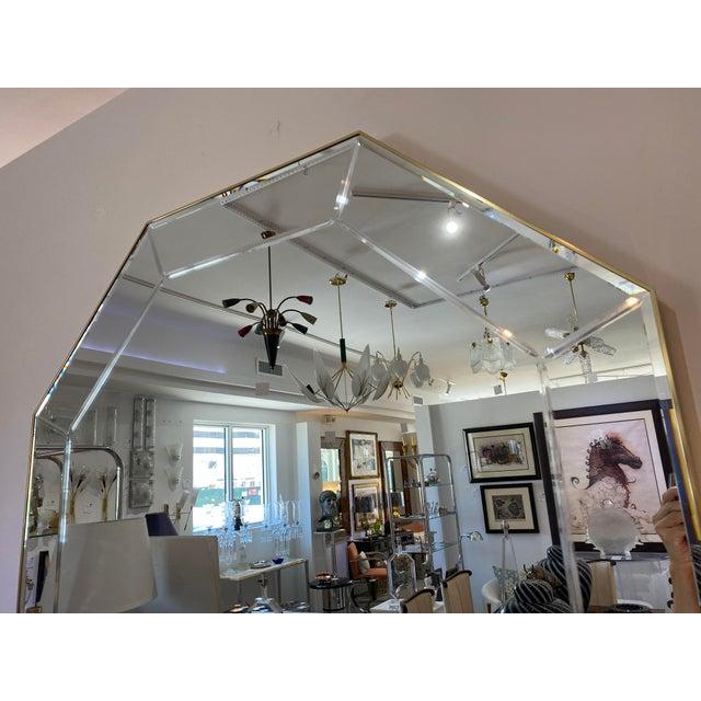 La Barge Vintage La Barge Octagonal Mirror For Sale - Image 4 of 9