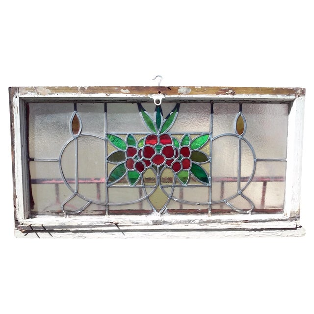 Vintage Stained Glass Window - Image 1 of 6