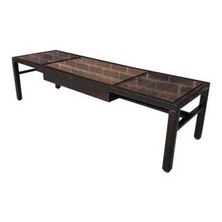 Mid-Century Modern Dunbar Long Coffee Table For Sale
