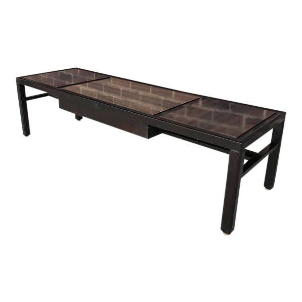 Mid-Century Modern Dunbar Long Coffee Table For Sale