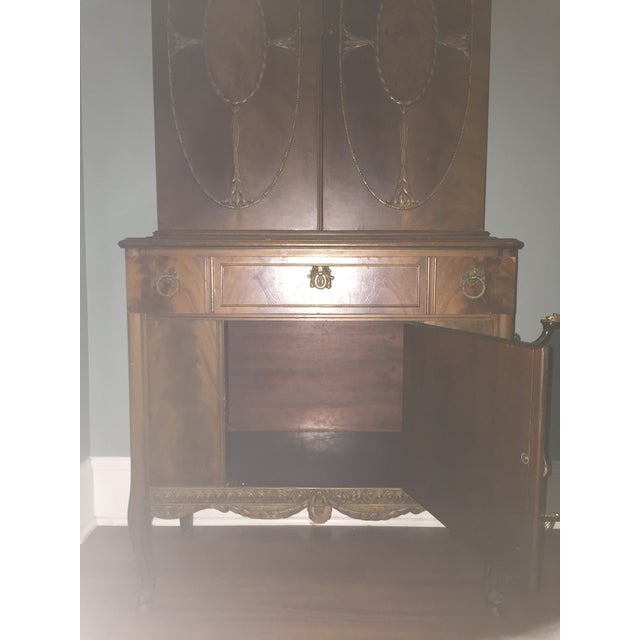 Vintage Batesville China Storage Cabinet - Image 6 of 8