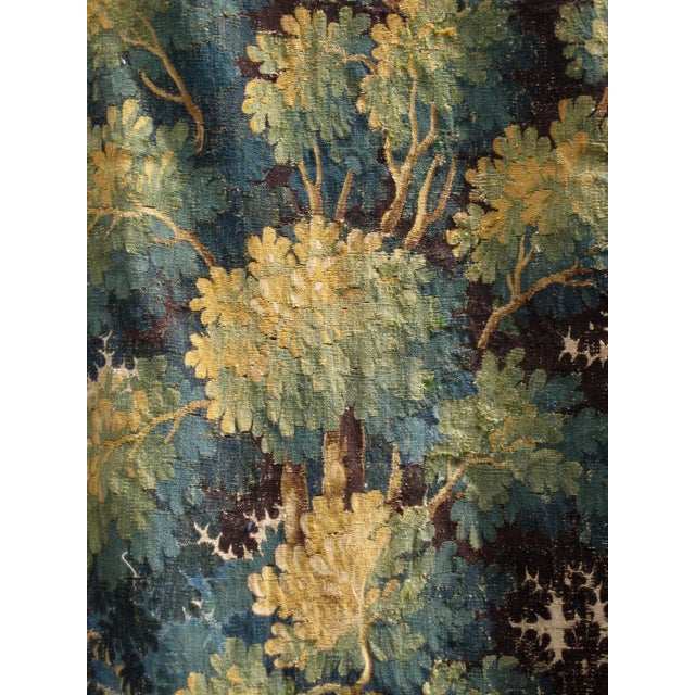 18th Century Flemish Verdure Tapestry Wall Hanging For Sale - Image 6 of 13