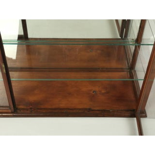 Antique English Mahogany Display Cabinet Preview