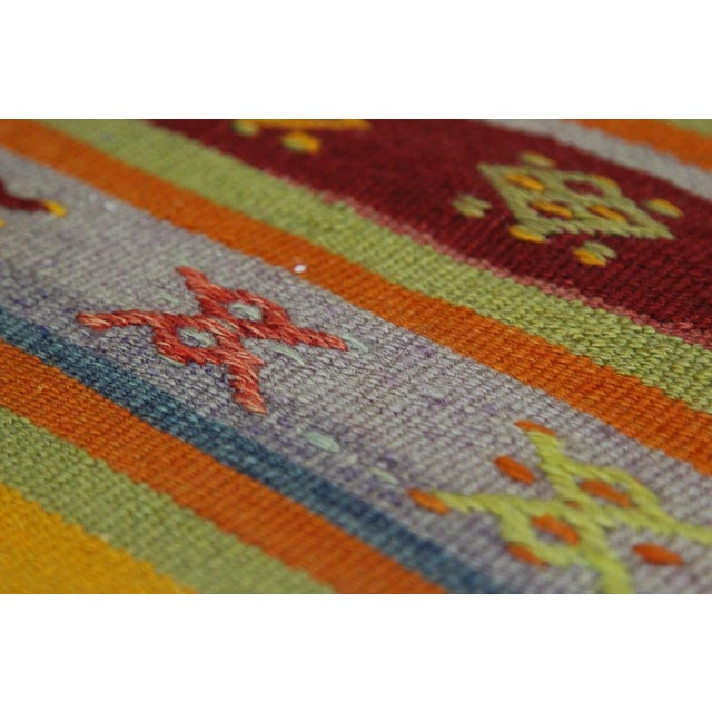Turkish Handmade Anatolian Kilim Rug - 1′9″ × 3′5″ - Image 6 of 6
