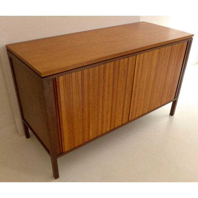Tambour Front Cabinet by Edward Wormley - Image 3 of 11