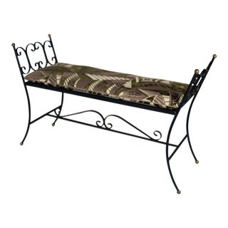 Arthur Umanoff Style Princess Bench For Sale