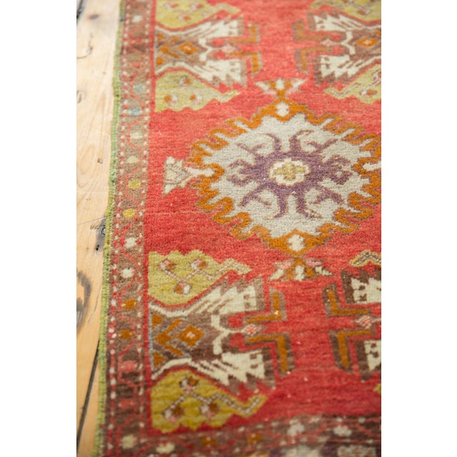 "Old New House Vintage Oushak Rug Mat - 1'6"" X 2'9"" For Sale - Image 4 of 6"