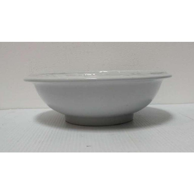 Early Large English Ironstone Serving Bowl For Sale In Los Angeles - Image 6 of 6