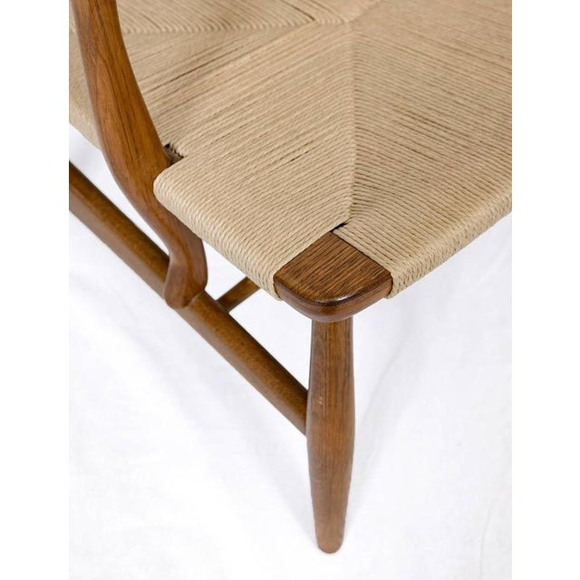 Hans Wegner CH-22 Lounge Chair For Sale - Image 10 of 10