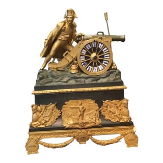 Mid 19th Century French Mantel Clock For Sale