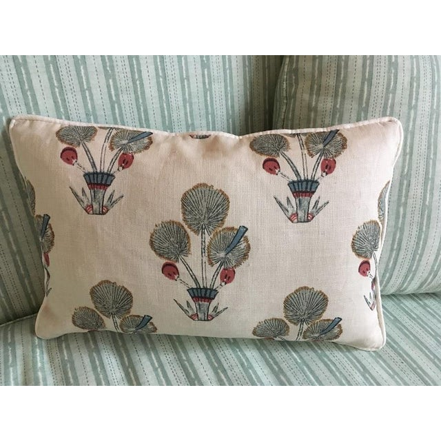 """Boho Chic Katie Leede & Co """"Thebes"""" 12 X 18 Lumbar Pillow For Sale - Image 3 of 3"""