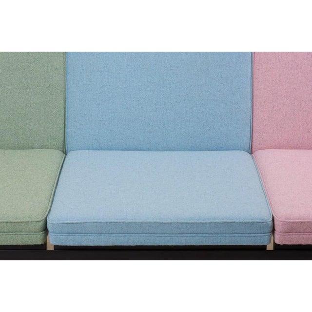 "Herman Miller ""Steel Frame"" Sofa by George Nelson for Herman Miller For Sale - Image 4 of 13"