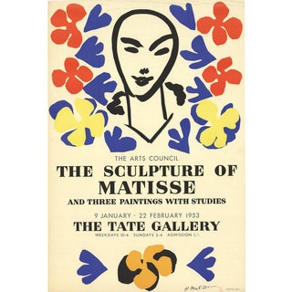 Henri Matisse 'The Sculpture of Matisse' Lithograph