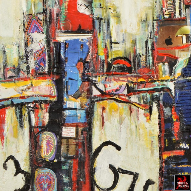 2010s Chicago Cityscape Collage Artwork For Sale - Image 5 of 6