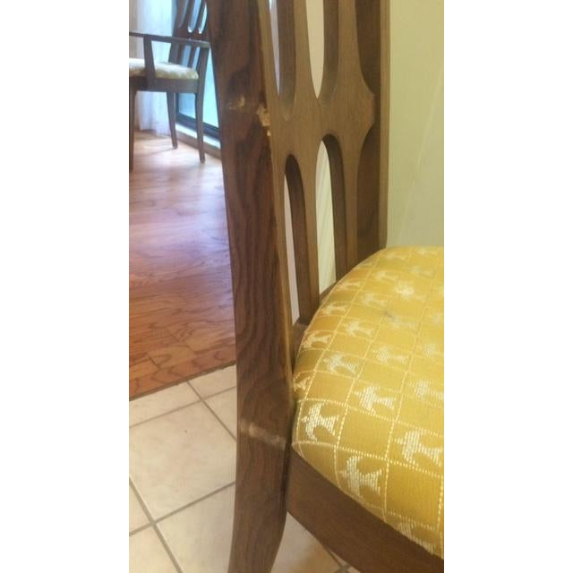 Mid-Century Broyhill Brasilia Dining Chairs - S/6 - Image 6 of 7