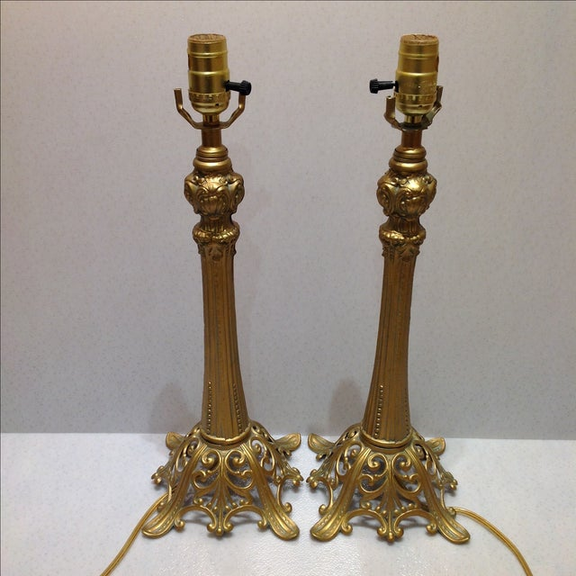 Loevsky & Loevsky Table Lamps - A Pair For Sale In Chicago - Image 6 of 8