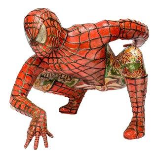 Domenico Pellegrino Spiderman Sculpture For Sale