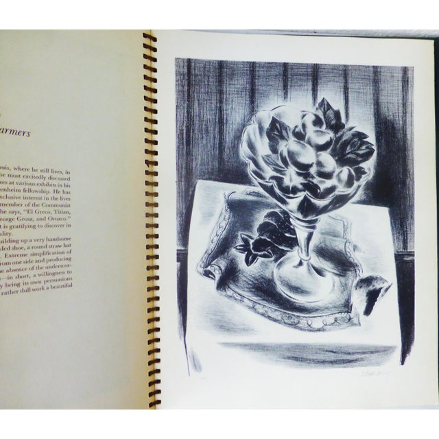 1939 Treasury of American Prints: Benton, Wood, Curry, Hopper For Sale - Image 9 of 11