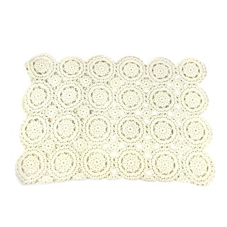Vintage Hand Made Doily Blanket