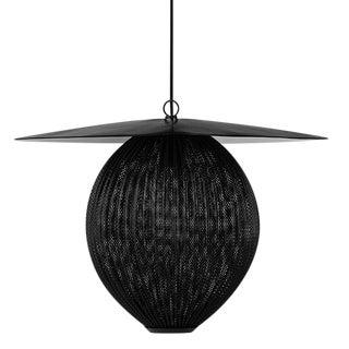 Satellite Large Pendant Light - Midnight Black For Sale