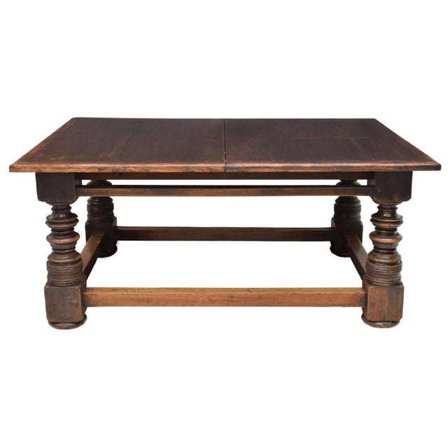This fabulous over-sized farmhouse dining table is from Tuscany, 19th c. It would make a wonderful dining table in any...