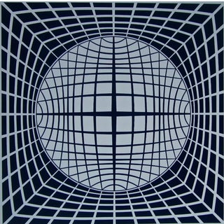 Victor Vasarely TR-UR 1980 For Sale