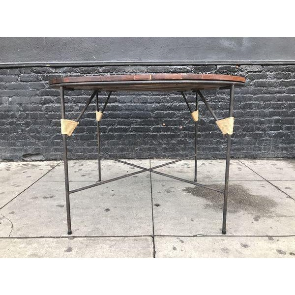 Beautiful Mid Century Modern Dining Set by Arthur Umanoff For Sale In Los Angeles - Image 6 of 9