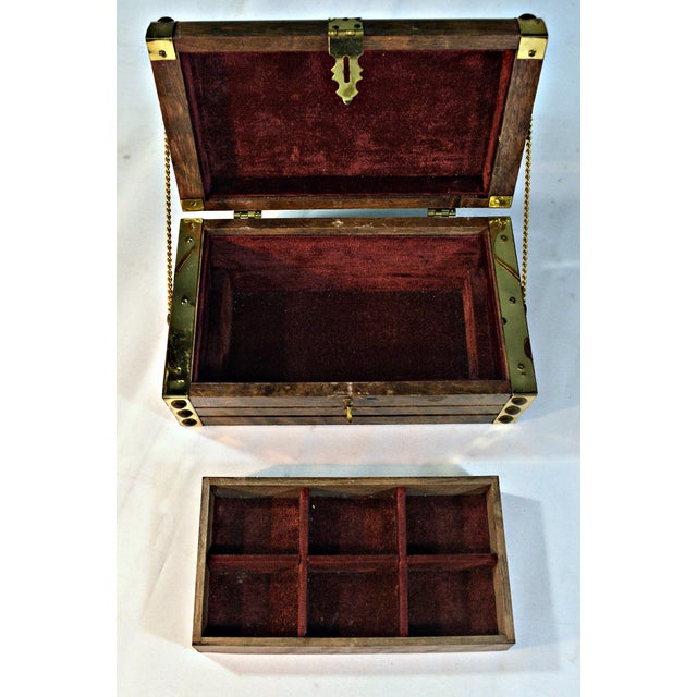Japanese Wooden Jewelry Box - Image 5 of 10