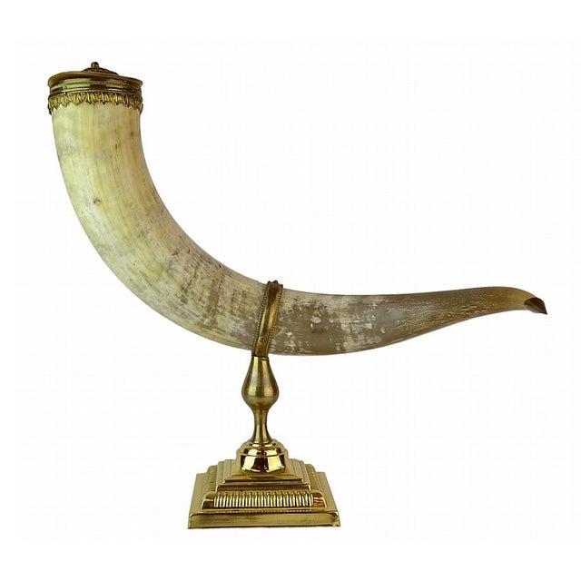 Decorative Presentation Horn - Image 1 of 2