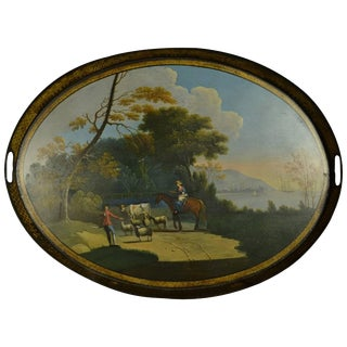 Georgian Gallery Tray For Sale