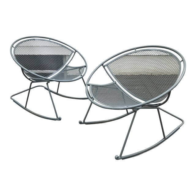 Salterini Rocking Chairs, a Pair For Sale