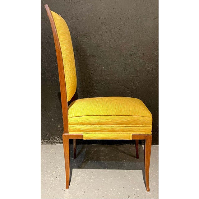 Mid-Century Modern Six Tommi Parzinger Dining Chairs, Originals For Sale - Image 12 of 13