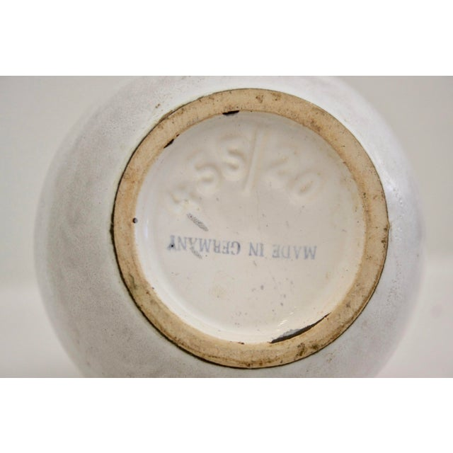 Lava Glaze Pottery Vase from Germany For Sale - Image 10 of 11