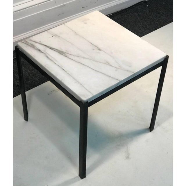 Mid-Century Modern 1970s Mid-Century Modern Marble Top Nesting Tables - Set of 3 For Sale - Image 3 of 6