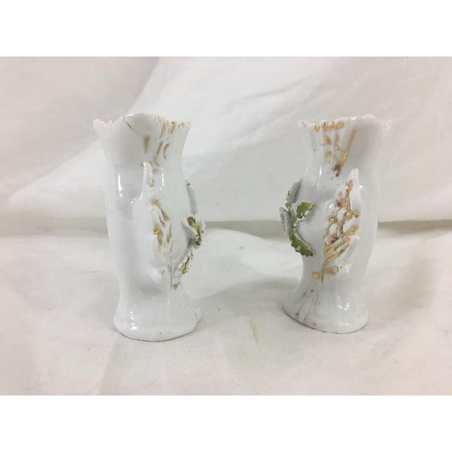 Miniature Old Paris Vases A Pair Chairish
